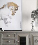 160㎡优雅美式3室2厅,温馨格调与设计质感的完美