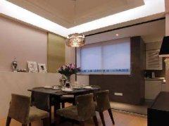 140平的现代风三房,简约素朴,格局划分很棒