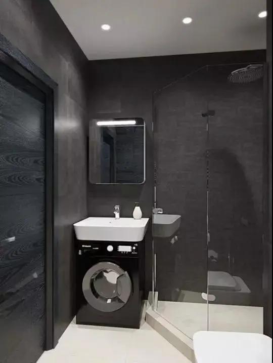 卫生间才3㎡,教您如何设计