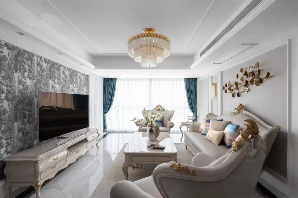 142㎡优雅欧式4室2厅,打造